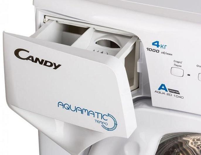 Candy Aqua 2D1040 07: отзывы и обзор