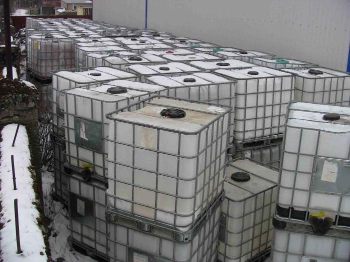 Емкость еврокуб. Размеры и сферы применения еврокубов. Еврокуб 1000 литров