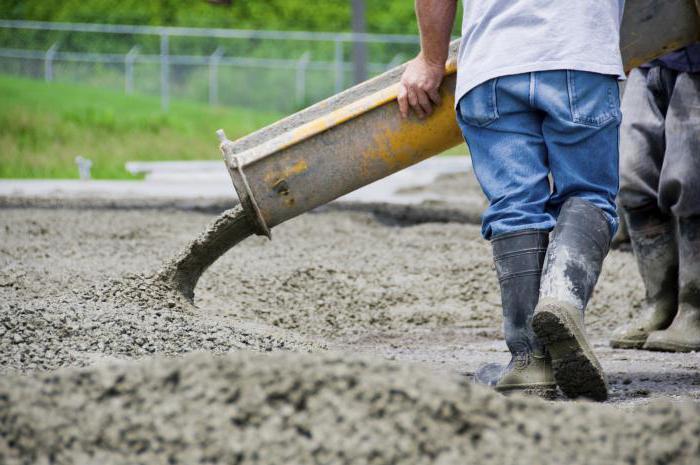 Из чего делают бетон: компоненты и их роль