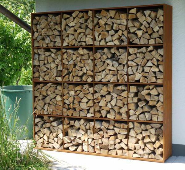 Как построить навес для дров?