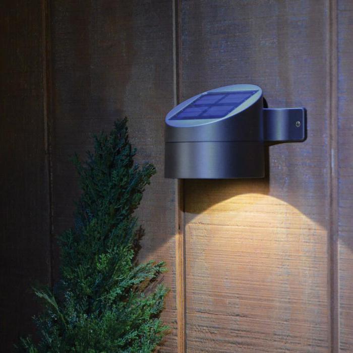 Лампы на солнечных батареях для дома и сада