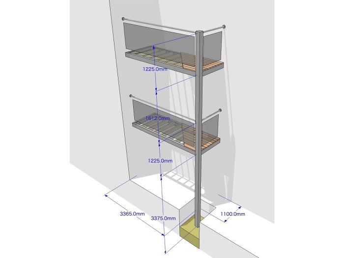 Полки на балконе своими руками: чертежи, схемы и пошаговая инструкция