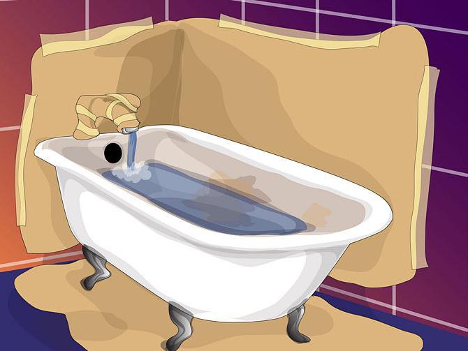 Реставрация ванны своими руками. Реставрация ванны акрилом (отзывы)