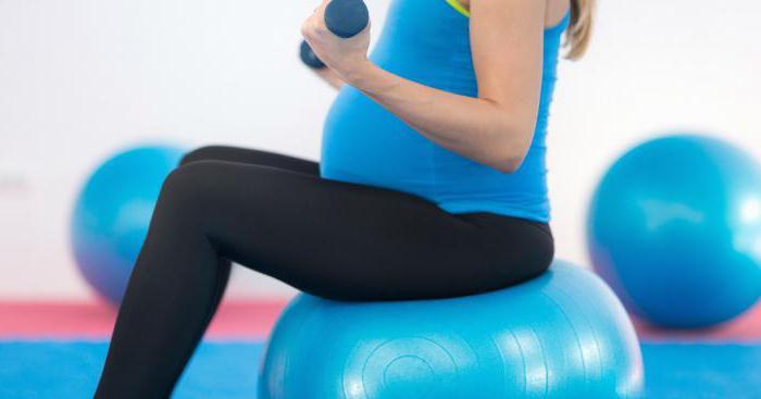 Упражнение для беременных в спортзале 57
