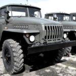 Автомобиль Урал-5557: описание, технические характеристики