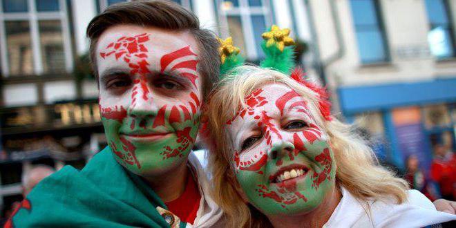 Валлийский язык - второй официальный язык Уэльса