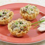 Как приготовить тарталетки с грибами, курицей и сыром?