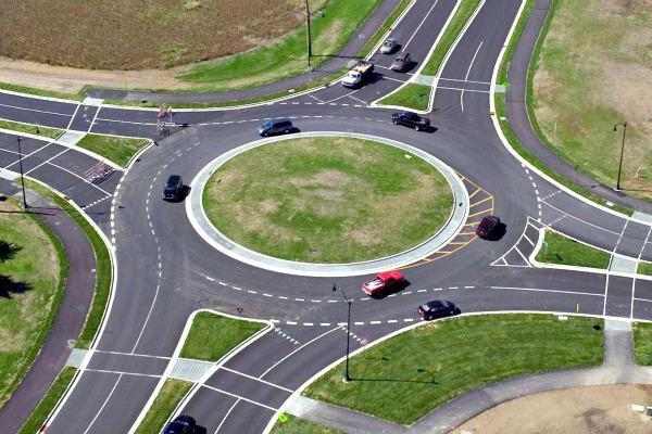 ПДД: правила проезда перекрестков по полосам