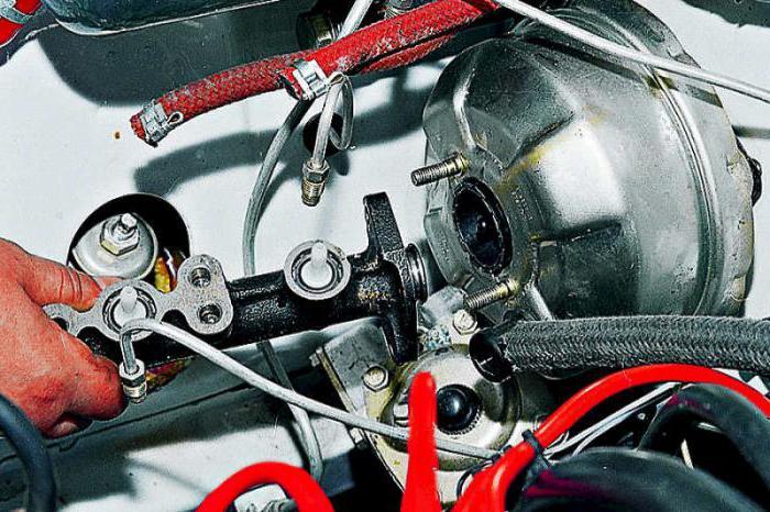 ВАЗ-2106, главный тормозной цилиндр: принцип работы, устройство, ремонт