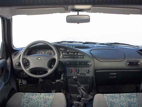 Внедорожник Chevrolet Niva (