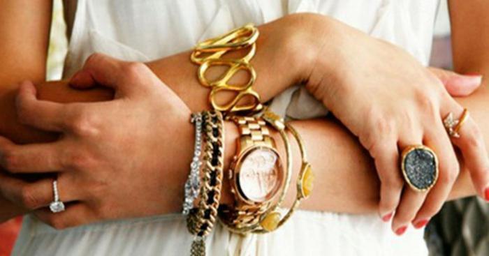 Как правильно носить золото: 5 советов