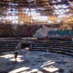 НЛО в Болгарии: заброшенный памятник коммунистических времен на горе Бузлудже