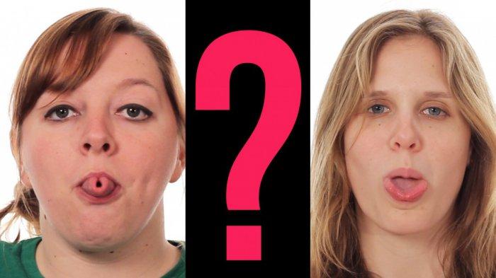 Миф о способности сворачивать язык в трубочку окончательно развенчан!