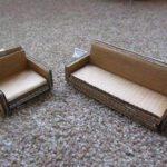 Как сделать для кукол Монстер Хай мебель из плотной бумаги?