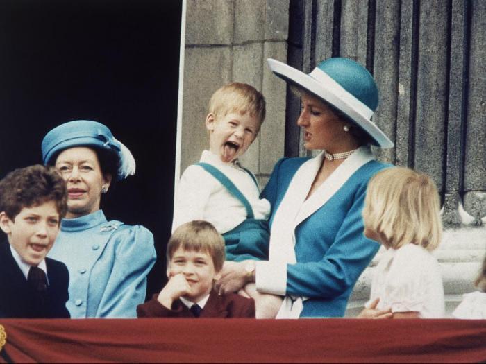 Как выглядела британская королевская семья, когда вы родились