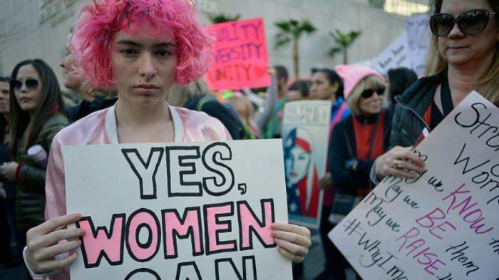 Какие вещи были недоступны для женщин 50 лет назад?