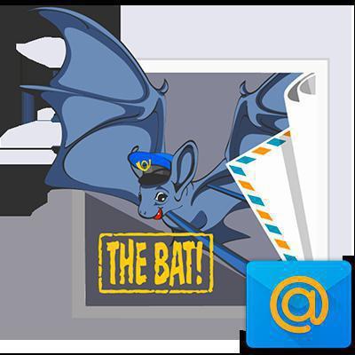 Действия при настройке почтовых клиентов Mail.ru и The Bat!