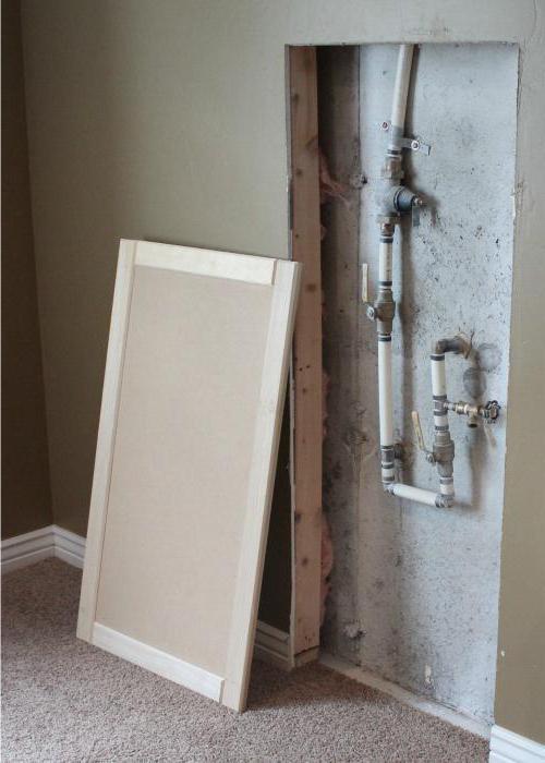 Как спрятать стояк в ванной? Способы и советы