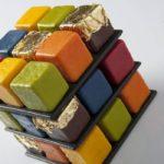 Сладкоежки будут в восторге: потрясающие торты в форме кубика Рубика от французского мастера