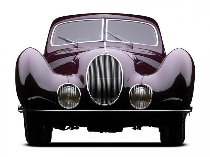 15 самых красивых автомобилей за всю историю человечества