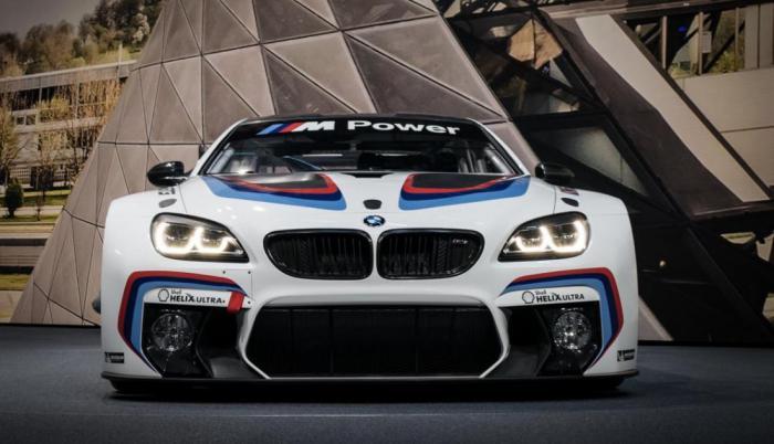 Автосалон во Франкфурте: спорткар BMW M6 GT3