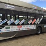Экоавтобус побил рекорд скорости в Великобритании