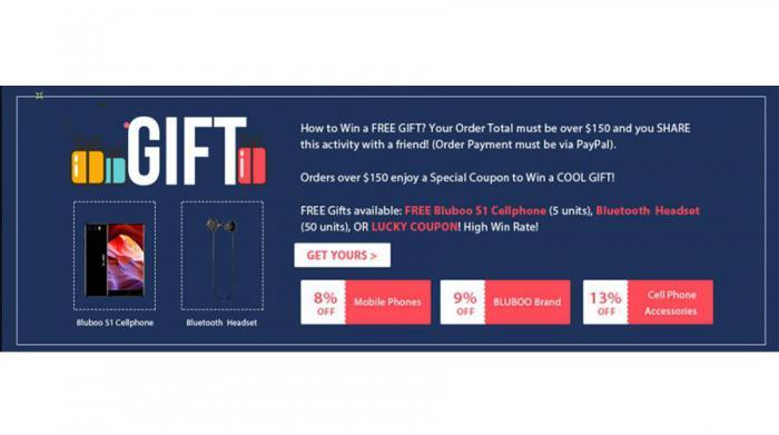 Глобальная предпродажа BLUBOO S1 эксклюзивно представлена в GearBest
