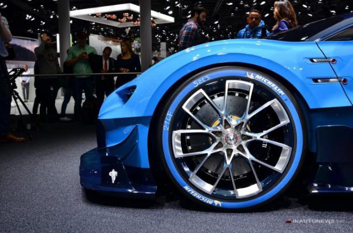Премьера Bugatti Vision Gran Turismo на автосалоне во Франкфурте