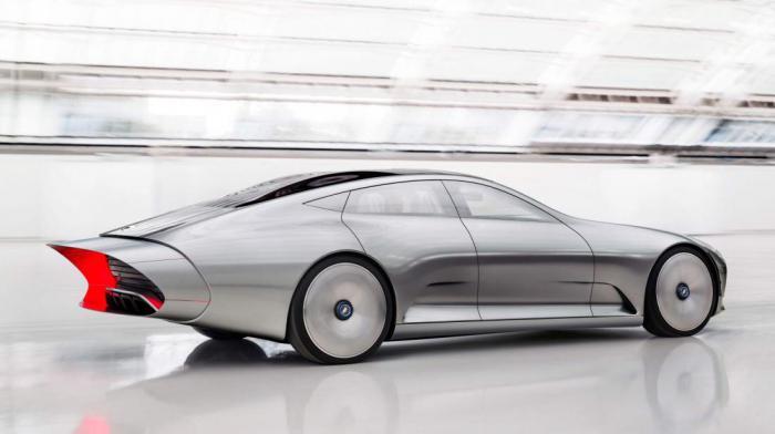 Самый обтекаемый автомобиль в мире - концепт IAA от Mercedes