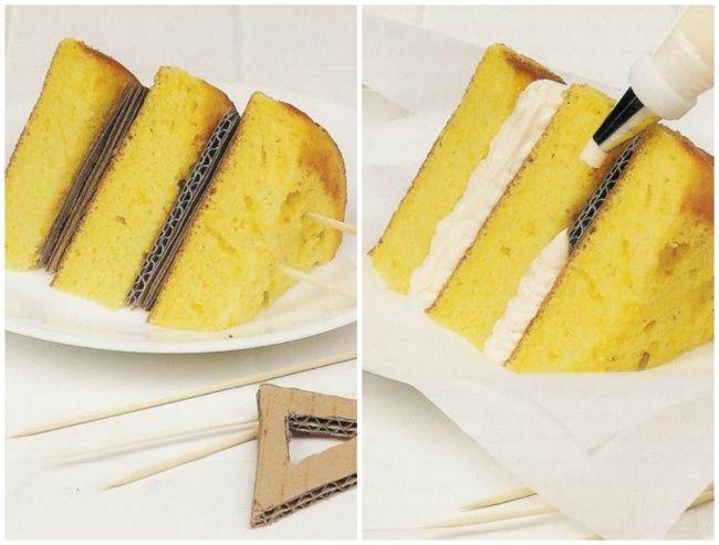 торт с картоном