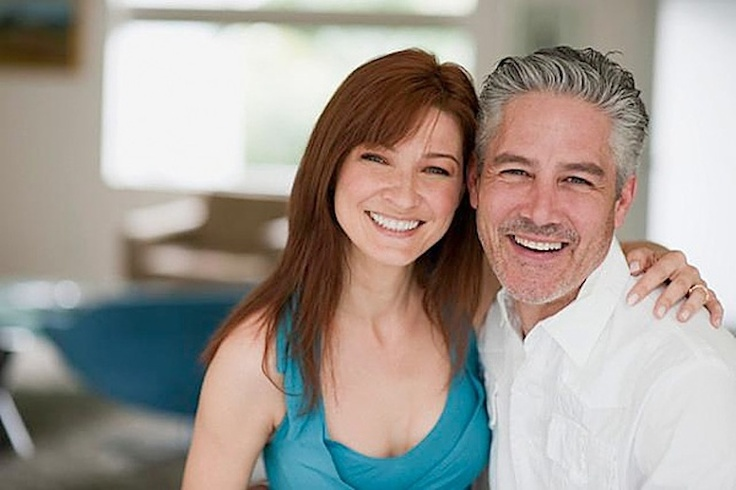 Girl dating a man 35 years older