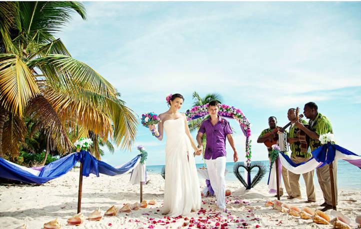 символическая свадьба за границей для двоих