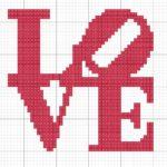 Использование схем вышивок крестом любовь в оформлении и создании вещей