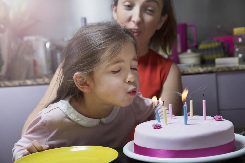 сценарий дня рождения ребенка девочки