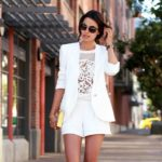 Костюм с шортами: модные тенденции, самые удачные модели, фото