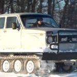 Вездеход Метелица - уникальная платформа для легкового автомобиля