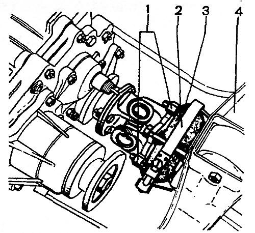 Эластичная муфта соединения карданного вала с коробкой передач