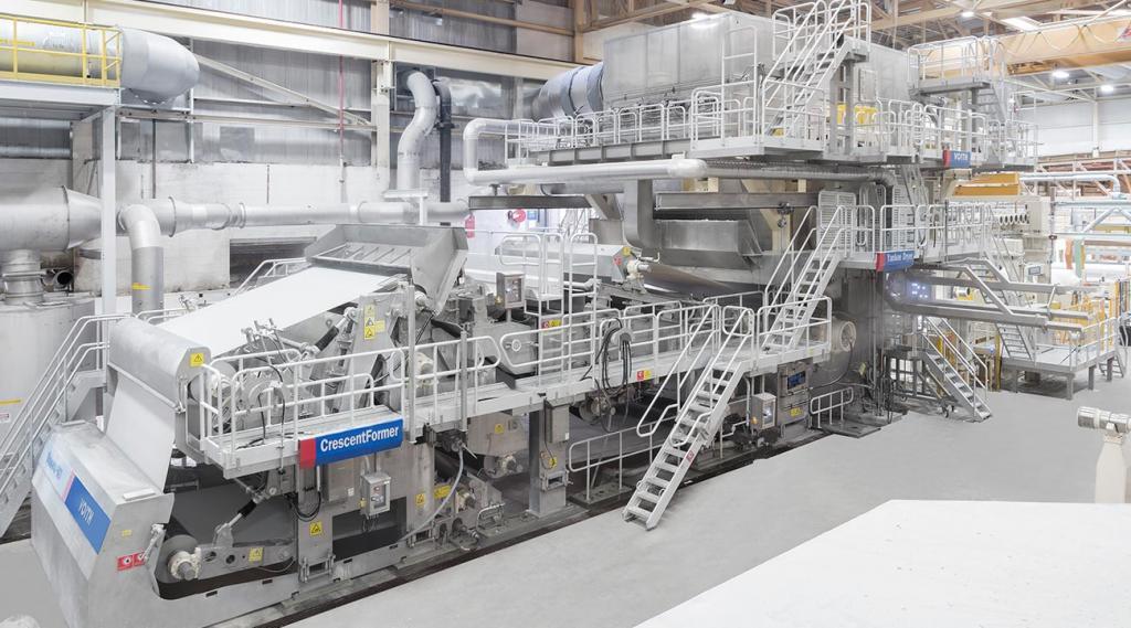 Машина по производству бумаги