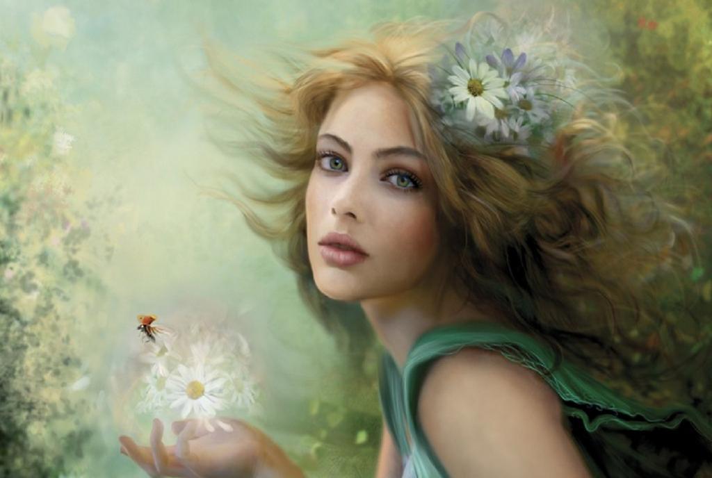 Сказочная женщина