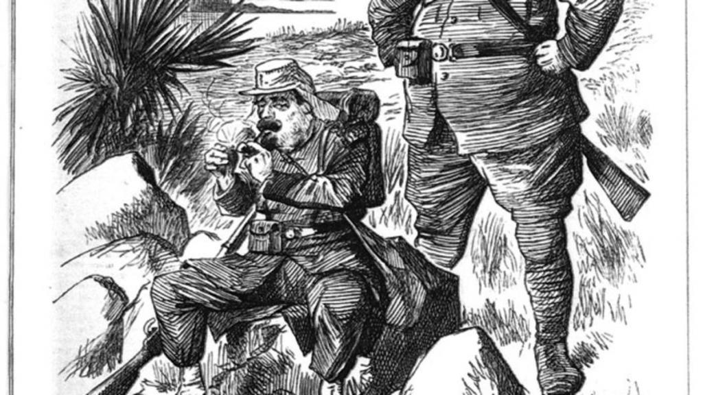Колониальные солдаты.