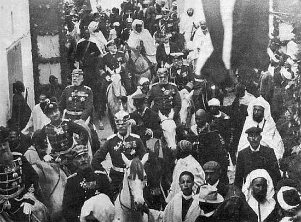 Немцы в Марокко.