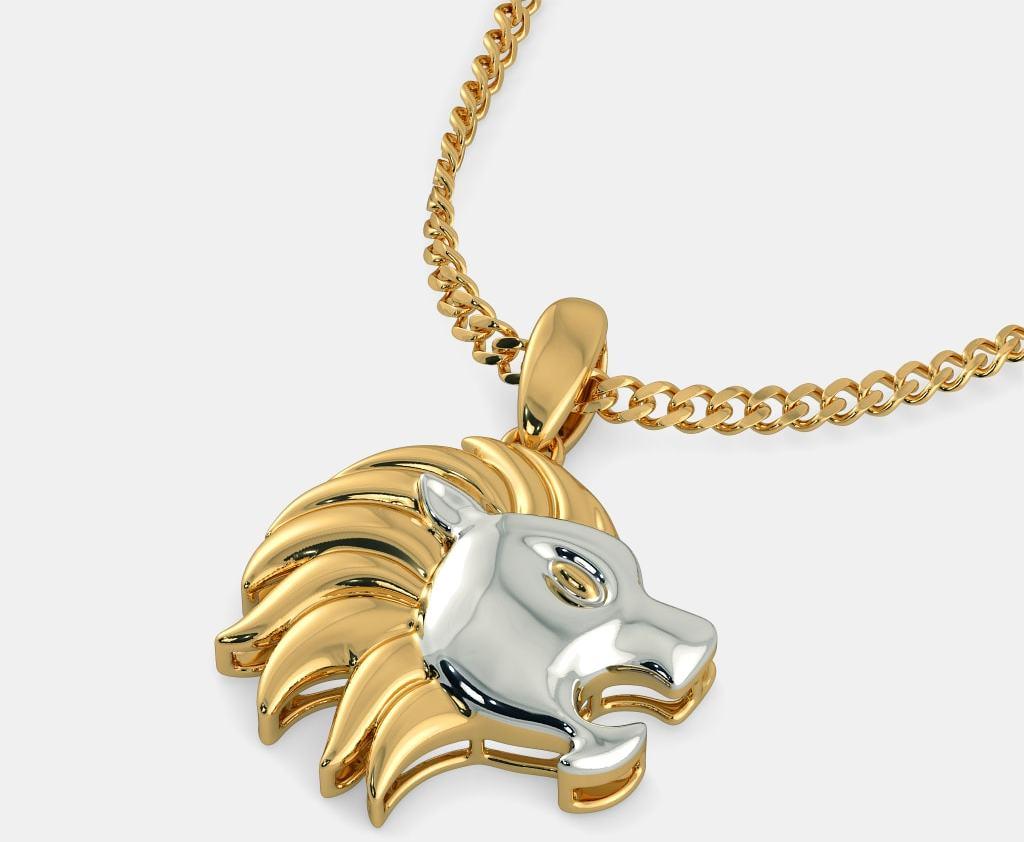 Кулон со Львом
