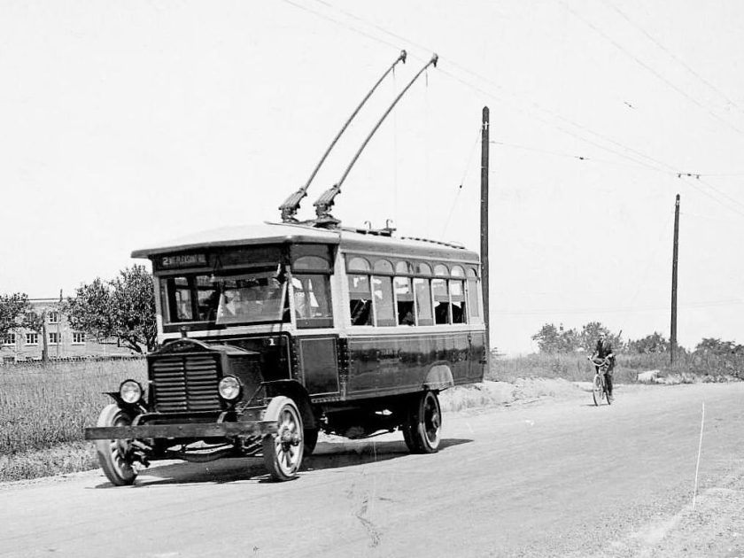 Прототип автобуса на электричестве
