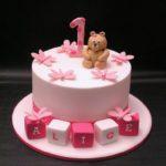 Торт для девочки на 1 годик: варианты начинки и украшения