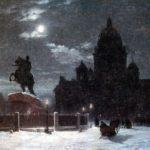 Александр Пушкин, Медный всадник: жанр произведения, сюжет, дата написания