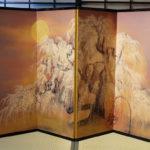 Японская ширма в дизайне интерьера