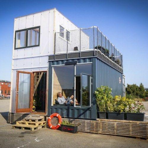 дома контейнерного типа проекты