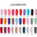 Гель лак Lacomchir: производитель, палитра цветов, состав и отзывы