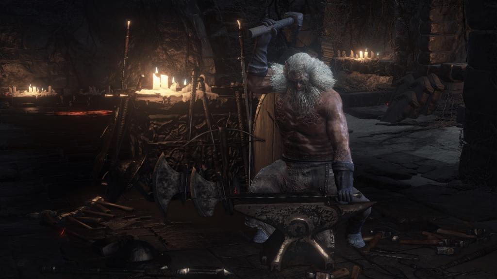 темный храм огня dark souls 3
