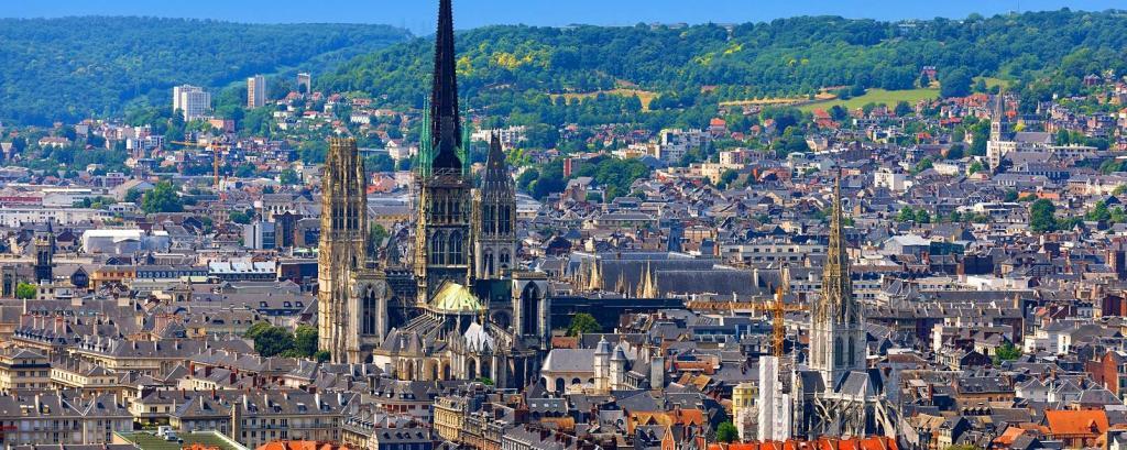 Север Франции достопримечательности